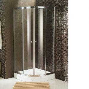 Round Corner Shower Screens